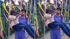 Watch Arvind Akela Kallu learns dance steps from choreographer Ram Devan