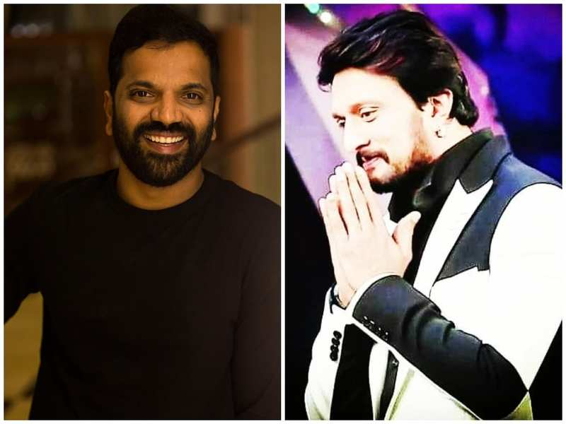 """""""Your strength is our inspiration, sir,"""" says Sathish Neenasam to Sudeep in an endearing tweet"""