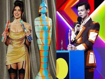 BRIT Awards 2021: Dua Lipa wins big