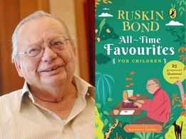 For 87th birthday, Ruskin Bond curates short stories collection