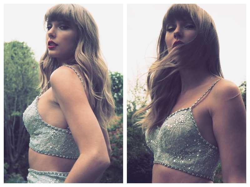 Taylor Swift accepts Global Icon Brit Award in a lehenga; Indian Swifties are loving her desi side | English Movie News - Times of India