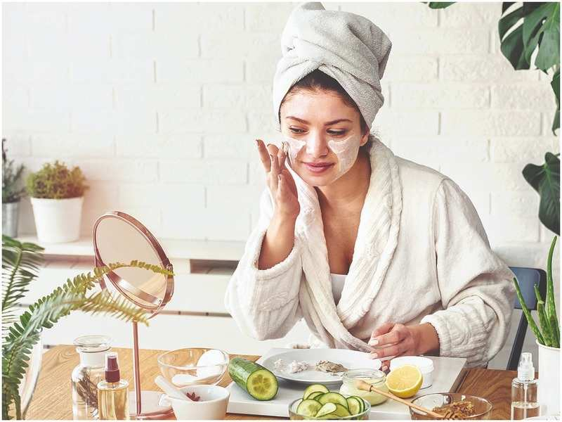 Indulge yourself with an at-home spa ritual