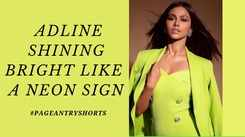 Adline Castelino Is Surely A Vision To Behold In This Neon Outfit!