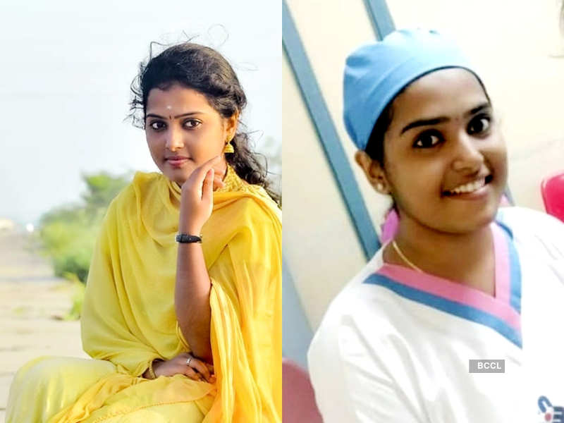 Nurse-turned-actress Vidhya Chandran gets nostalgic as she shares a few throwback memories (Photo - Instagram)