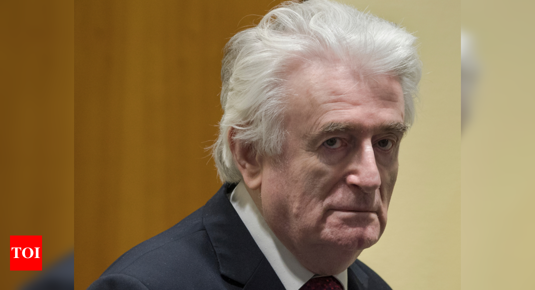 Bosnian Serb ex-leader Radovan Karadzic to spend life in UK prison