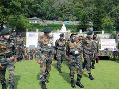Army Chief reviews security situation in forward areas of Jammu across LoC   India News