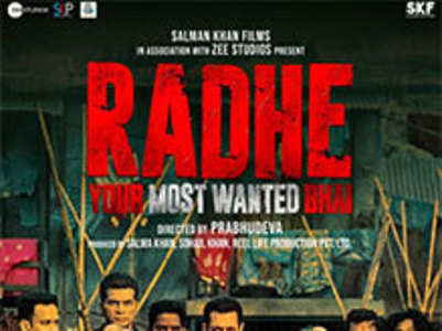 Movie Review: Radhe - 3/5