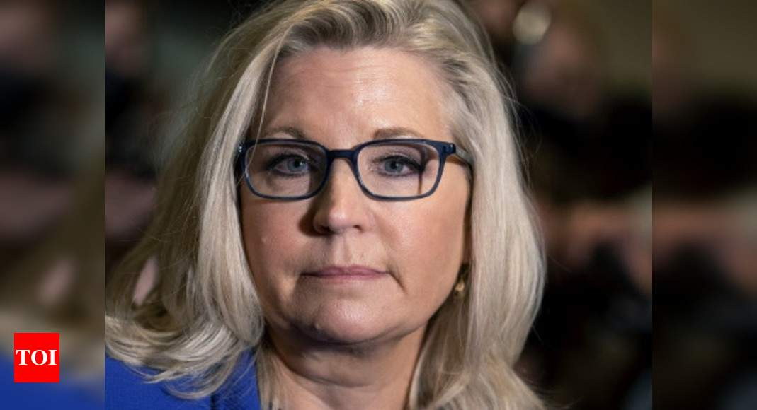 GOP ousts Trump critic Liz Cheney from top post