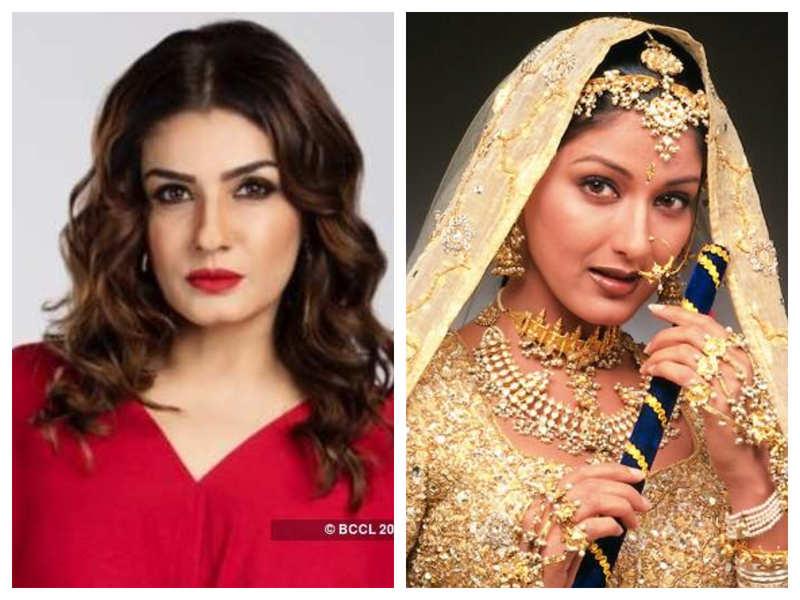 Not Sonali Bendre, Raveena Tandon was the first choice for Salman Khan's love interest 'Preeti' in 'Hum Saath Saath Hain'