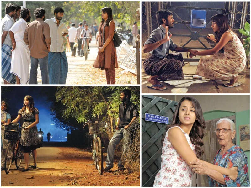 Unseen pictures of Trisha in Dhanush's Aadukalam goes viral