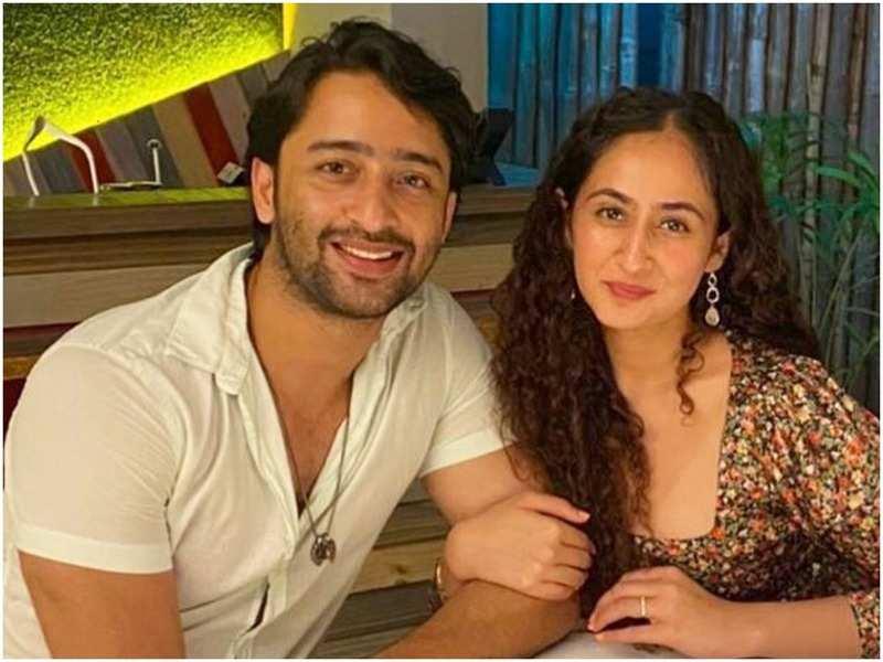 Shaheer Sheikh and Ruchikaa Kapoor (Instagram)