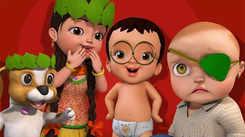 Telugu Nursery Rhymes: Kids Video Song in Telugu 'Raja Rani, Police - Pillala Aata'
