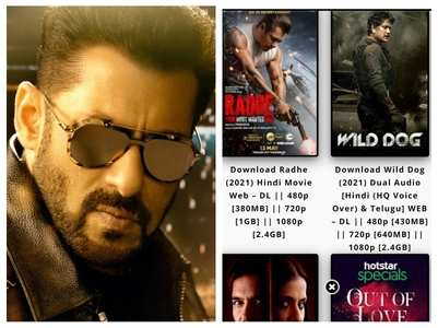 Salman Khan's 'Radhe' leaked online