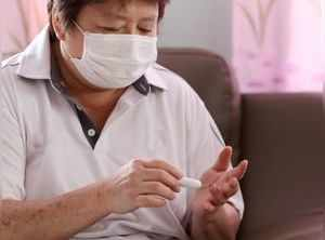 5 COVID symptoms in diabetes patients