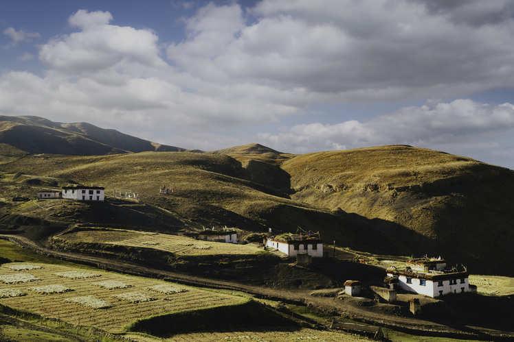 The highest motorable Buddhist monastery