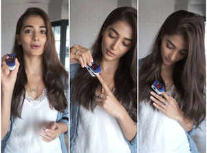 Pooja Hegde teaches how to use a Pulse Oximeter
