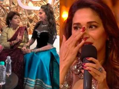 When Madhuri was scolded by late Saroj Khan