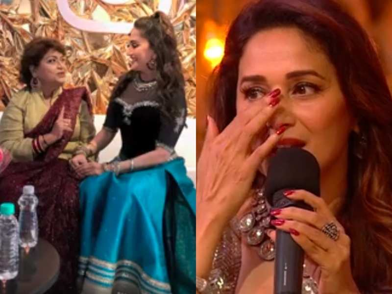 Madhuri Dixit gets emotional as she recalls the time she was scolded by 'Master Ji' Saroj Khan for crying; watch video from Dance Deewane 3