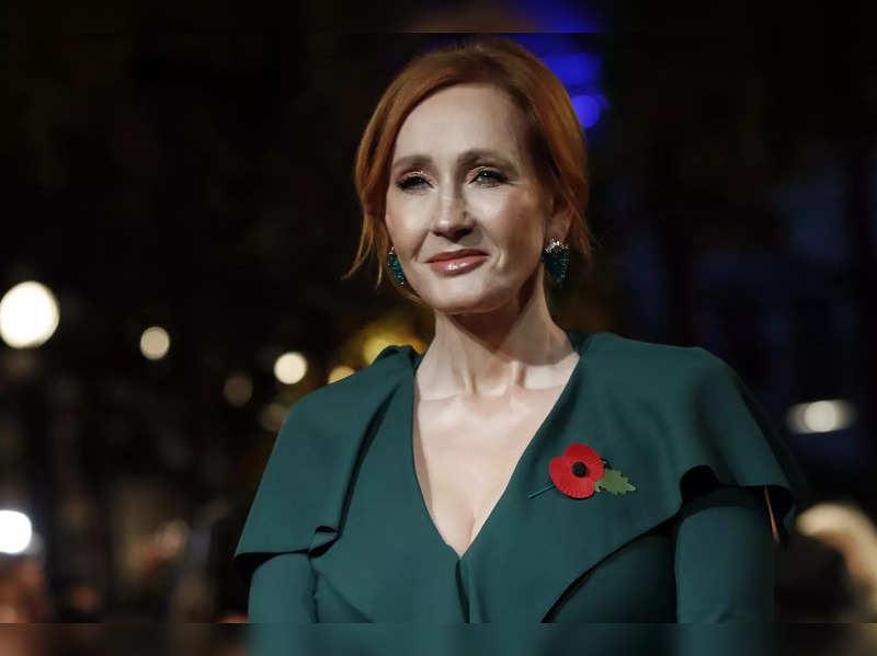 FILE - Author J.K. Rowling (AP Photo/Christophe Ena, File)