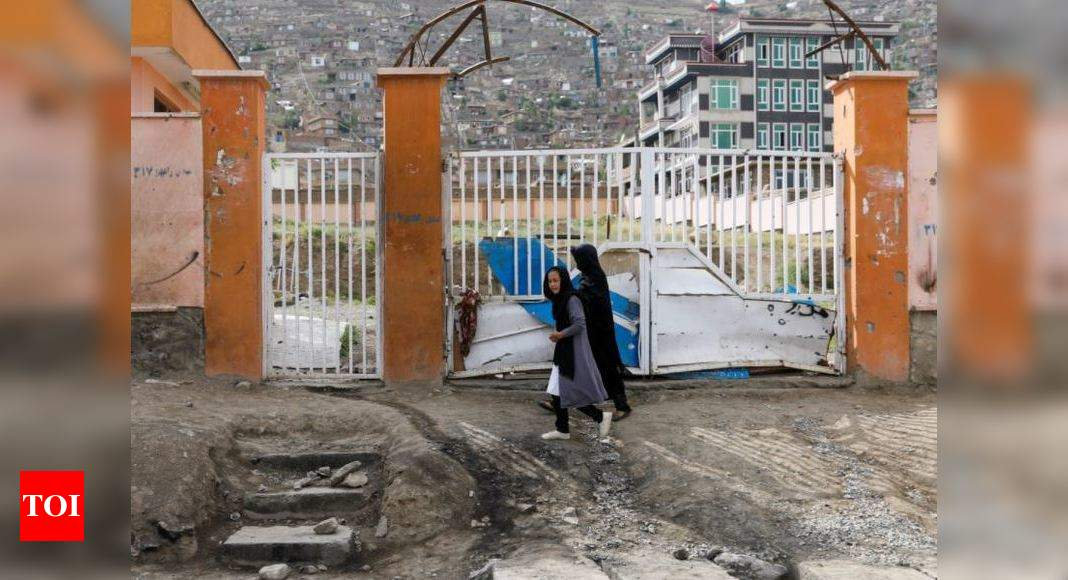 Afghan police say Kabul mosque bombing kills 12 worshippers – Times of India