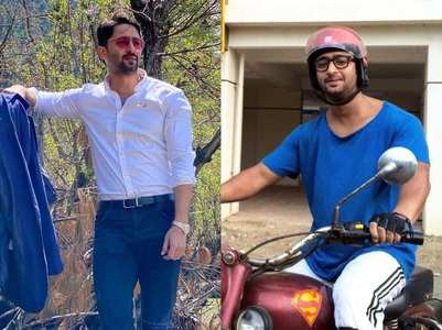 Shaheer Sheikh's surprising throwback pics