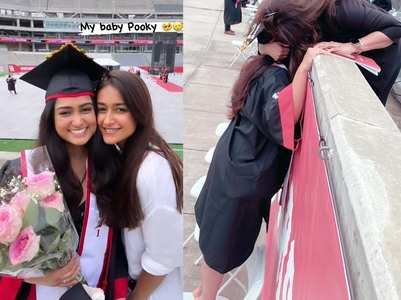 Ileana is proud as her sister graduates
