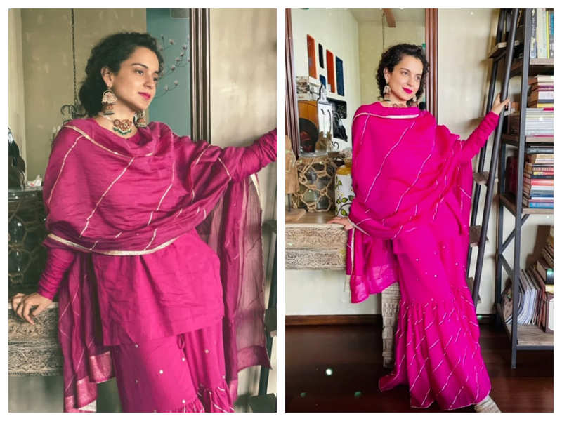 Kangana Ranaut celebrates Eid in quarantine, treats fans with her stunning pictures
