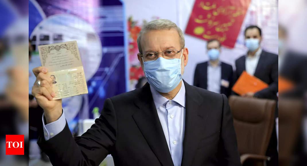 Ex-Iran parliament speaker registers to run for president