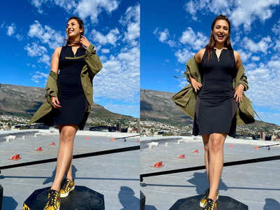 Divyanka's 'favourite' pics from Cape Town