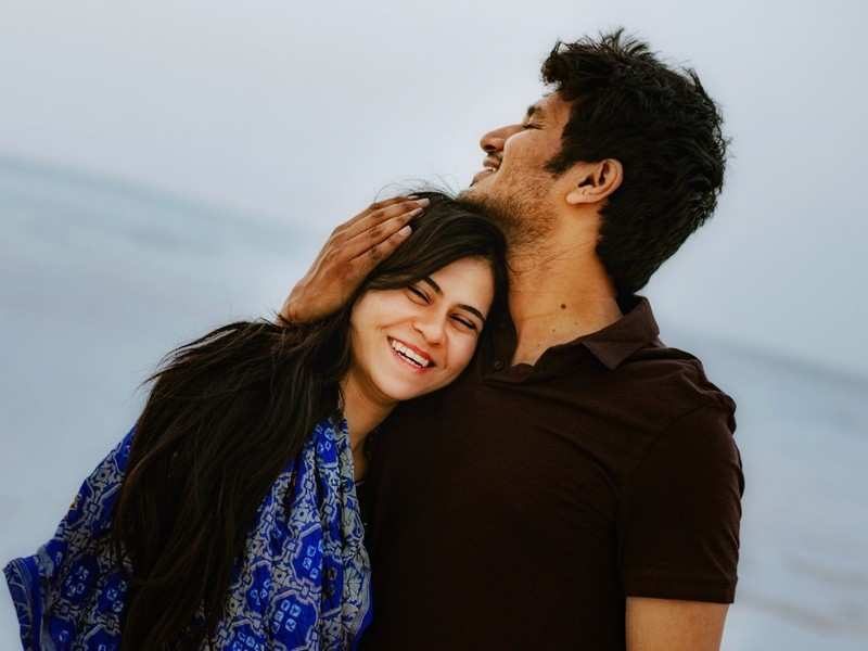 You're the sweet, calming presence in my life: Nikhil wishes lady love Pallavi Varma on their first wedding anniversary