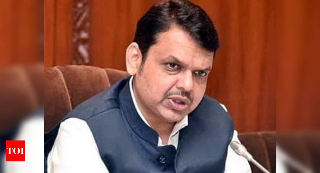 Fadnavis writes to Sonia, slams Maharashtra govt's handling of pandemic   India News – Times of India