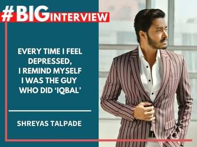 #BigInterview! Shreyas: I want to die acting