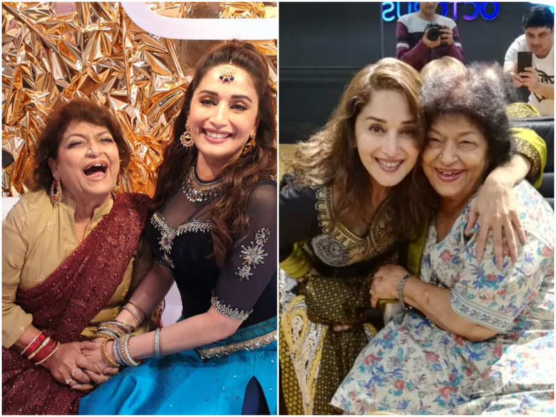 Here's why Madhuri Dixit did not get a 'Happy Birthday' message from Saroj Khan's daughter Sukaina today- Exclusive!