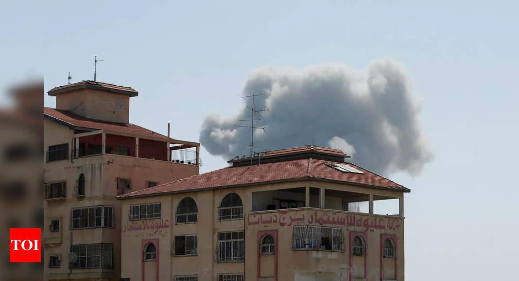 Israeli airstrikes kill 26 in downtown Gaza City – Times of India