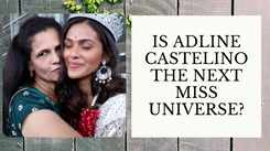 With just hours left for the crowning, Adline Castelino receives blessing from friends and family!