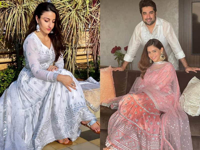 From Soha Ali Khan to Aamna Sharif: Here's how celebs sparkled on Eid