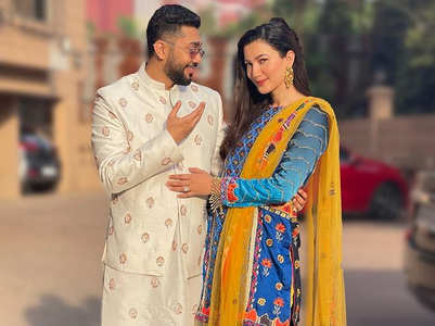 Gauahar gets to be like a newly wedded bride