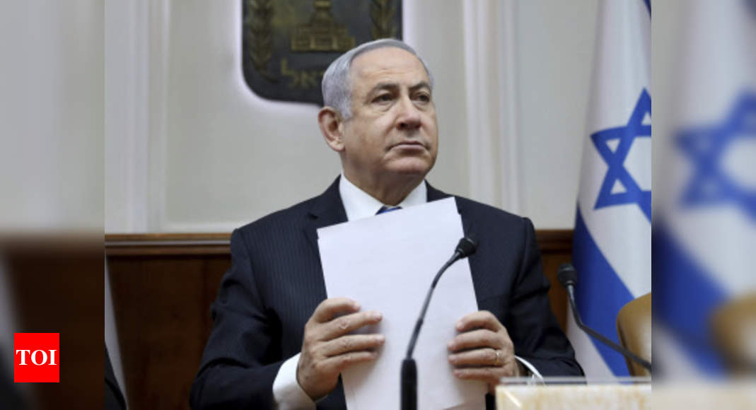 Military campaign at full force, will take time: Israeli PM – Times of India
