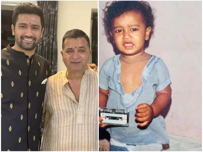 Sham Kaushal's B'day wish for his son Vicky