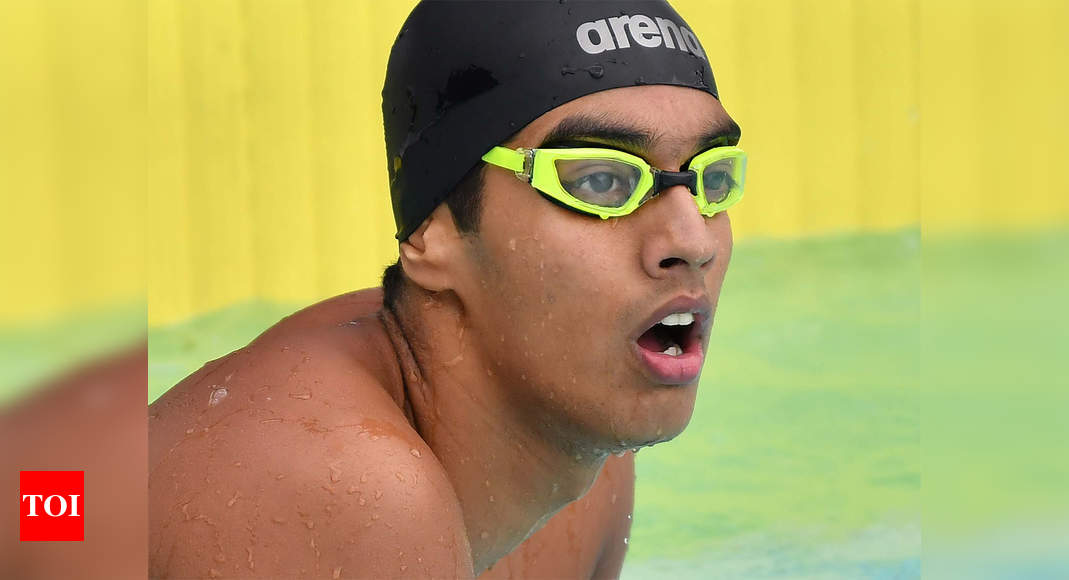 Race for Olympics: Lockdown in Bengaluru hits swimmer Nataraj hard | More sports News – Times of India