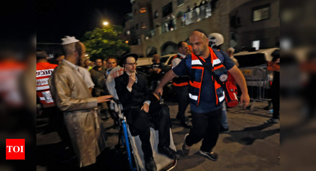 Two dead, dozens hurt in Israeli synagogue accident: Ambulance service