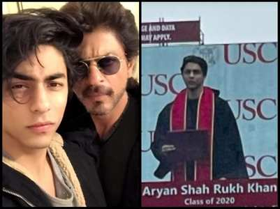 Aryan's viral pic from graduation ceremony