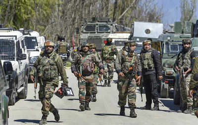 2 terrorists killed in meeting with security forces in Srinagar | India News