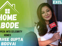 Naagin fame Raavee Gupta Biddvai's elegant home |Exclusive|