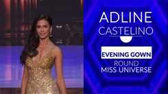 Watch Adline Castelino Strud Her Way In The Golden Gown Round After Making It To Top 10