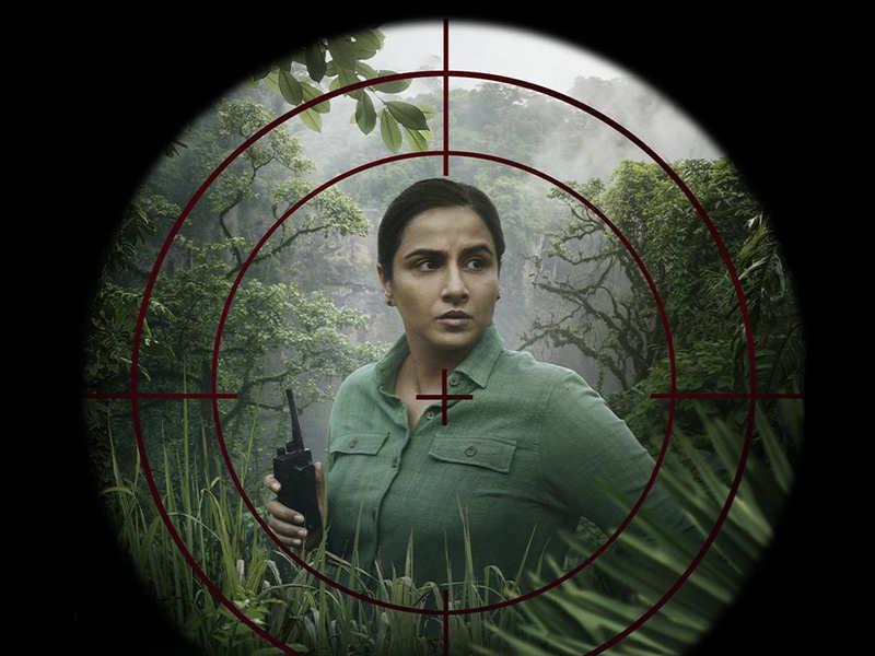 Vidya Balan shares new poster of 'Sherni', confirms OTT release in June