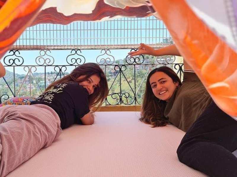 Rubina Dilaik shares a glimpse of how she is quarantining with sister Jyotika in Shimla; see photos