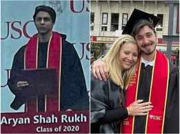 Did you know Aryan Khan and Lisa Kudrow's son Julian Stern graduated together?