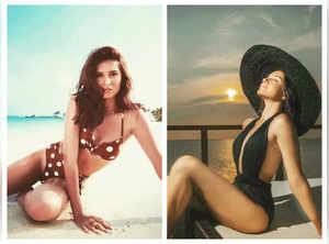 Tara Sutaria's stunning beachwear pics