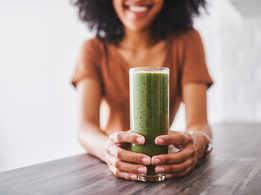 Spinach-cucumber juice to boost immunity